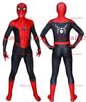 Far From Home Spider Man Costume Spandex 3D Printed Spandex Halloween Spiderman Cosplay Suit For Adult/Kids