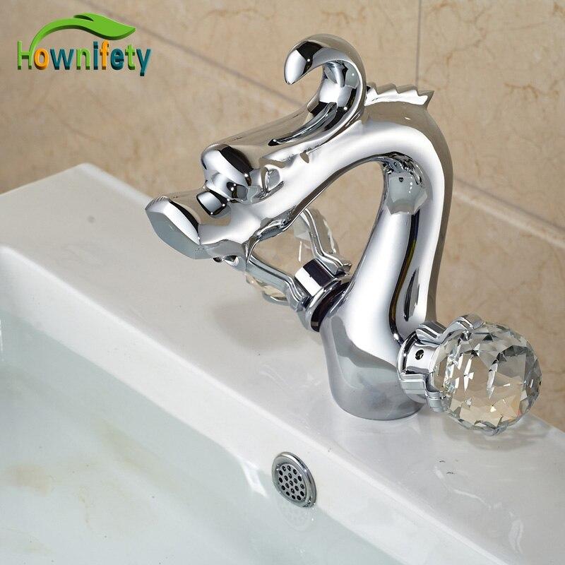 Dragon Shape Bathroom Centerest Sink Faucet Chrome Finish Countertop Dual Crystal Handles Mixer Tap 2x yongnuo yn600ex rt yn e3 rt master flash speedlite for canon rt radio trigger system st e3 rt 600ex rt 5d3 7d 6d 70d 60d 5d