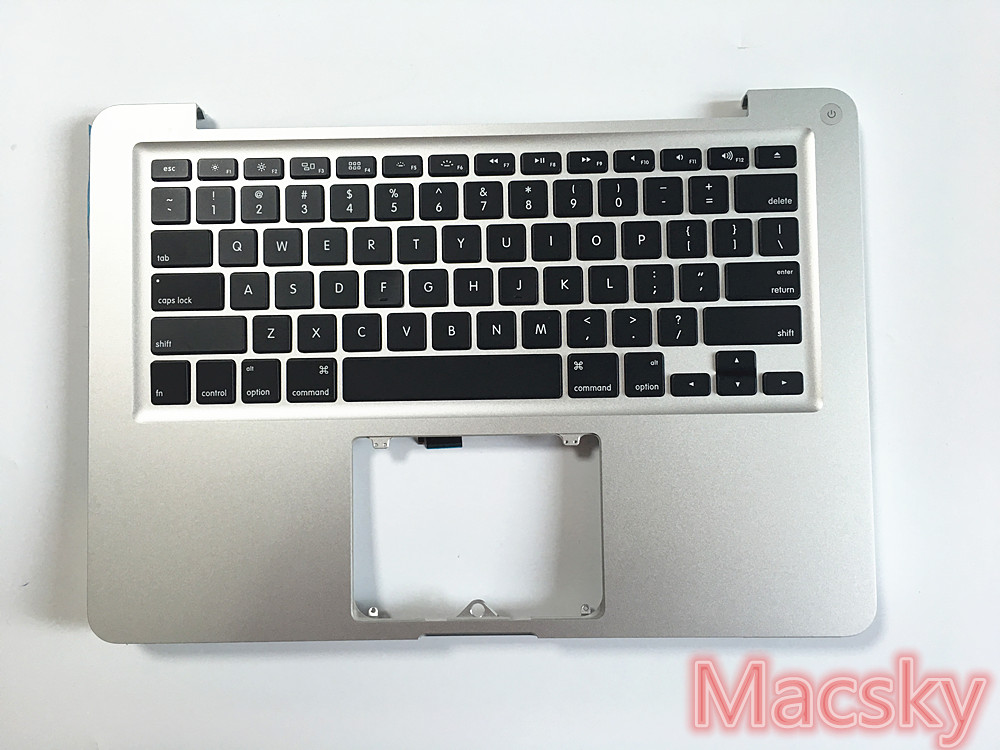 Genuine New US Top Case Palmrest Case for Macbook Pro 13 Laptop A1278 MC700 MD101 with US Keyboard and Backlight 2011 2012 Year original new topcase 11 6 for macbook air a1370 a1465 palmrest top case with us keyboard backlight no touchpad 2013 2015