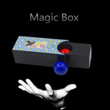 Сменный Магия Коробка Превращение Красный Шар В Синий Шар Реквизит Магия Трюки Игрушки Классика Игрушки