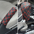 freeshipping new design Car handbrake sleeve Hanging file sleeve 2 pieces Shift sleeve 2color Manual transmission Automatic car