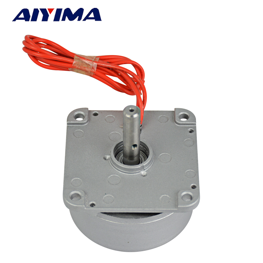 Aiyima Three-phase AC Permanent Magnet Wind Generator Hand Generator DIY Homemade Used Generator