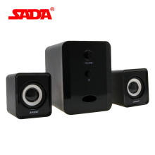 SADA D-201 Compact and Dignified shape Portable Multimedia Laptop Computer Speaker Support AUX Input by USB