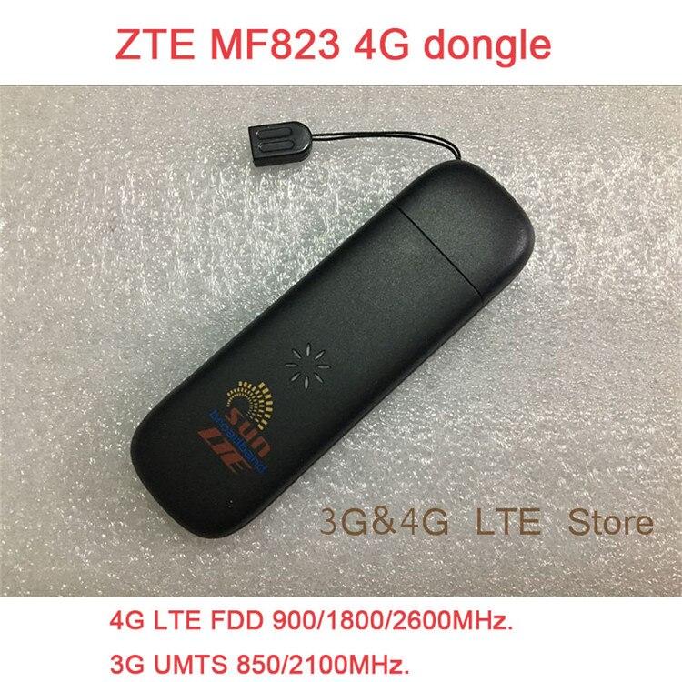Unlocked ZTE MF823 wifi USB Dongle USB Stick Datacard band 3 7 8 Mobile SIM Card 4g adapter Hotspot Dongle PK e5776 e3372 e3276 ревербератор xox pk 3 usb pk 3 usb page 4