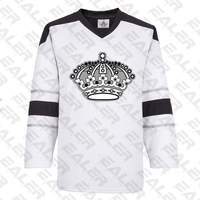 COLDINDOOR free shipping Los Angeles Training suit With Printing kings Logo ice hockey jerseys in stock customized E063