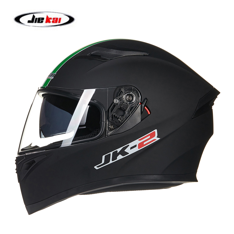 JIEKAI Motorcycle Helmets Full Face Helmets Double Lenses Flip Up Motorbike Helmet MTB ATV Dirt Bike Racing Motocross Helmets
