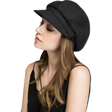 Unisex 2019 Spring new Octagonal Hats product Captain Hat Washed solid color Flat Cap Corduroy Fabric women's Beret