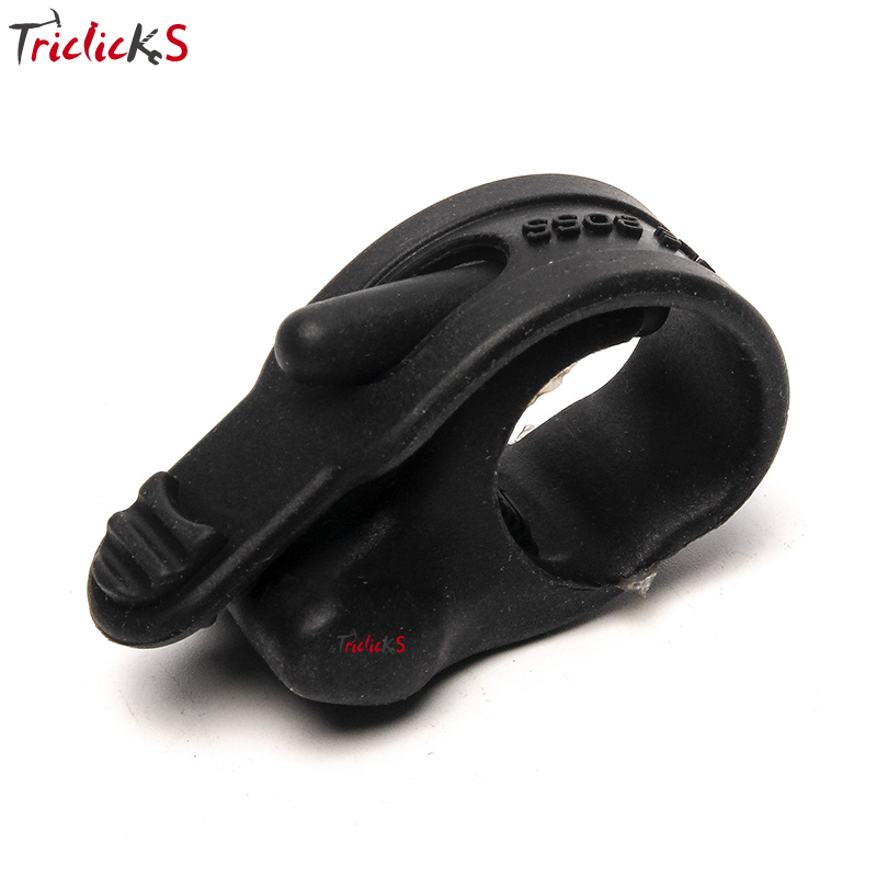 Triclicks Universal Black Rubber Hand Grip Control Assist Throttle Control Motorcycle Cruise Control Assist Rocker Cramp Stopper