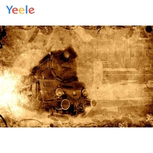 Yeele Little Birthday Party Portrait Retro Photographic Backgrounds Baby Vintage Train Photography Backdrops For Photo Studio