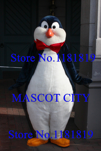 MASCOT CITY Mary poppins penguin mascot adult costume hot sale anime cosplay cartoon character carnival mascotte fancy dress kit