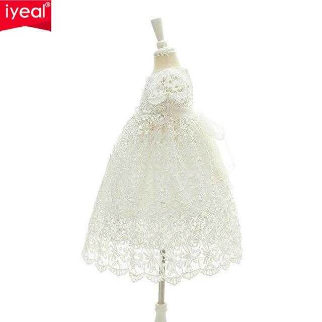 Tienda Online IYEAL 2018 nuevo 1 año cumpleaños bebé niña vestidos ...
