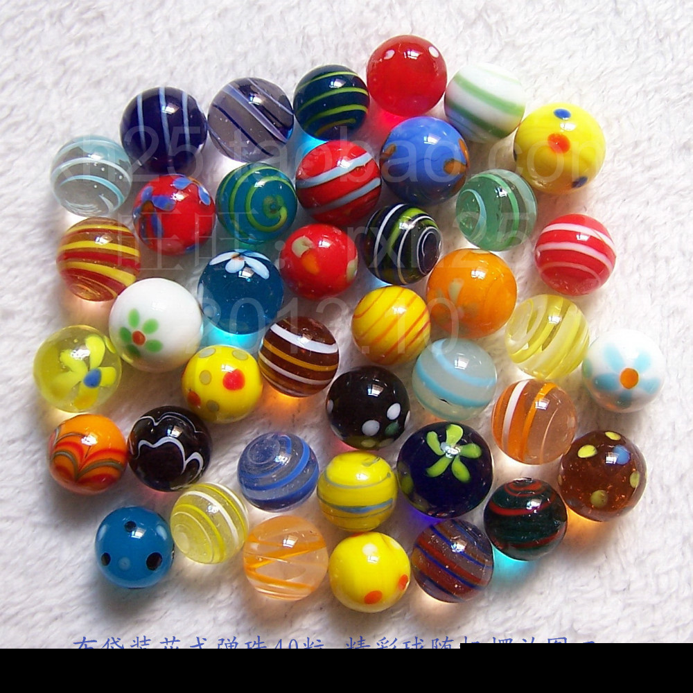 Bulk Colored Marbles : Hot crafts colored glass balls christmas gift mm