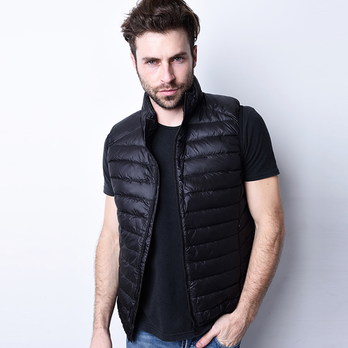 View all mens clothing Our Men's vests are great for wearing down the gym or during training. We have a variety of different fits, brands and styles of vests to choose from including tank tops so you'll be able to look and feel great.