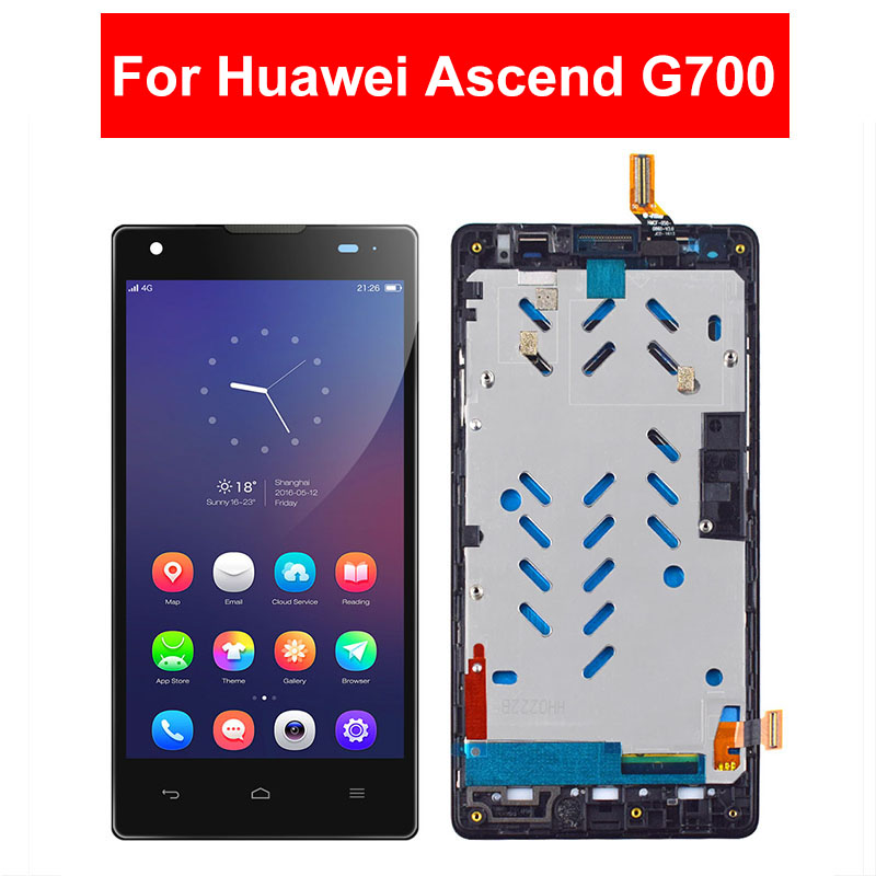 LCD For Huawei Ascend G700 G700-T00 G700-U00 G700-U10 LCD Display Touch Screen Digitizer Glass Assembly Frame For Huawei G700LCD For Huawei Ascend G700 G700-T00 G700-U00 G700-U10 LCD Display Touch Screen Digitizer Glass Assembly Frame For Huawei G700