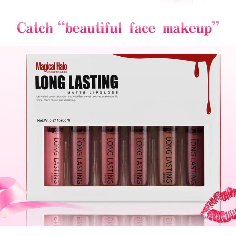Lip Make Up Diamant Glitter Wasserdichte Lipgloss Lange Anhaltende Feuchtigkeitscreme Shimmer Nude Lippenstift Flüssigkeit Make-Up