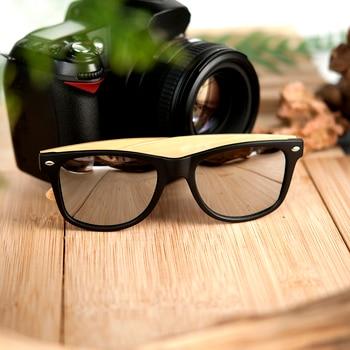 BOBO BIRD Square Vintage Sunglasses Men Women Wood Sun Glasses Retro Polarized oculos Brand 4