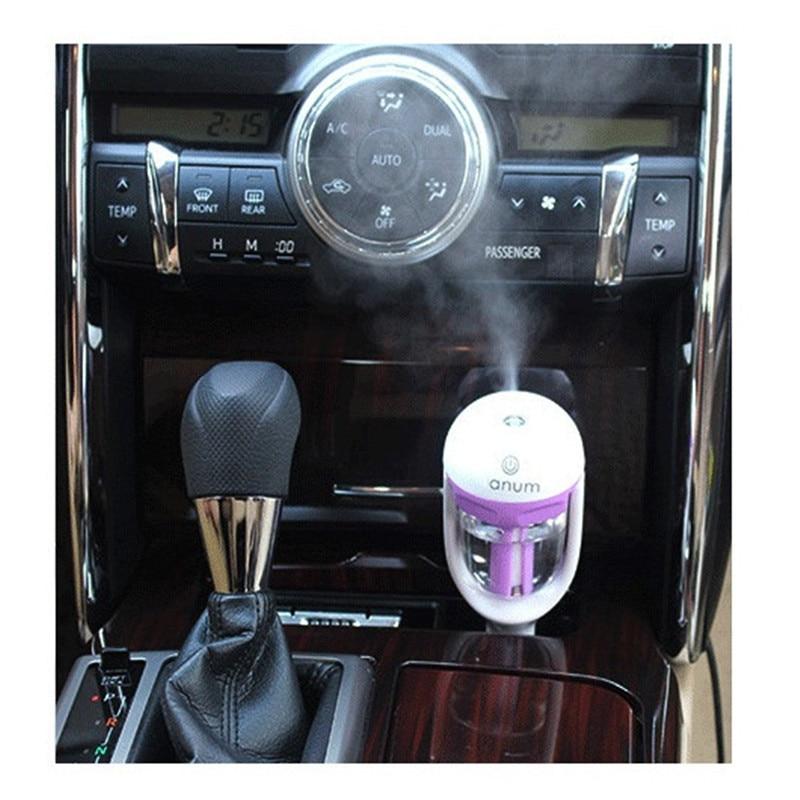 Mini Car Air Humidifier Diffuser Oil Ultrasonic Fragrance Aroma Mist PurifierBH4