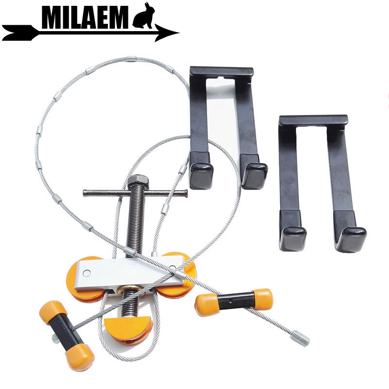 1Set Archery Compound Bow Press L Bracket Release Portable Outdoor Shooting Accessories