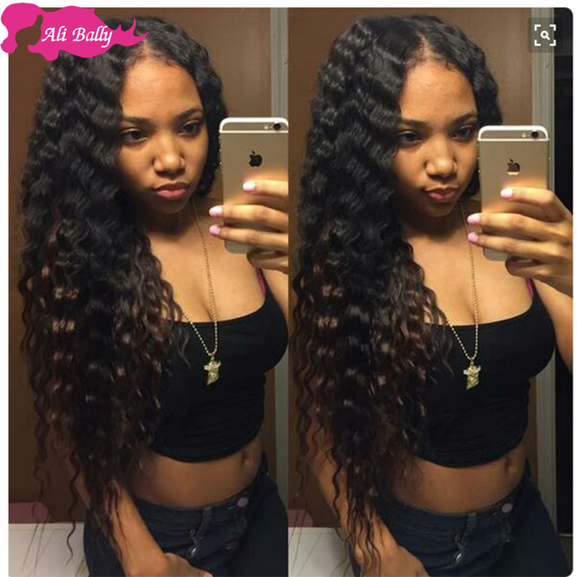 Good 7a Grade Indian Virgin Hair Deep Curly Rosa Products 2 Bundles Wet And