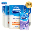 Durex Condoms Ultra Thin Sensation Penis Cock Sleeve Natural Latex with Extra Lubricated Condoms Intimate Goods Sex Toy for Men