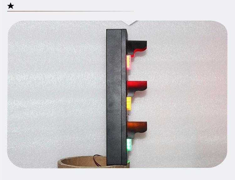 Mini stal nierdzewna 100 mm AC 85-265 V Czerwona żółta zielona - Bezpieczeństwo i ochrona - Zdjęcie 5