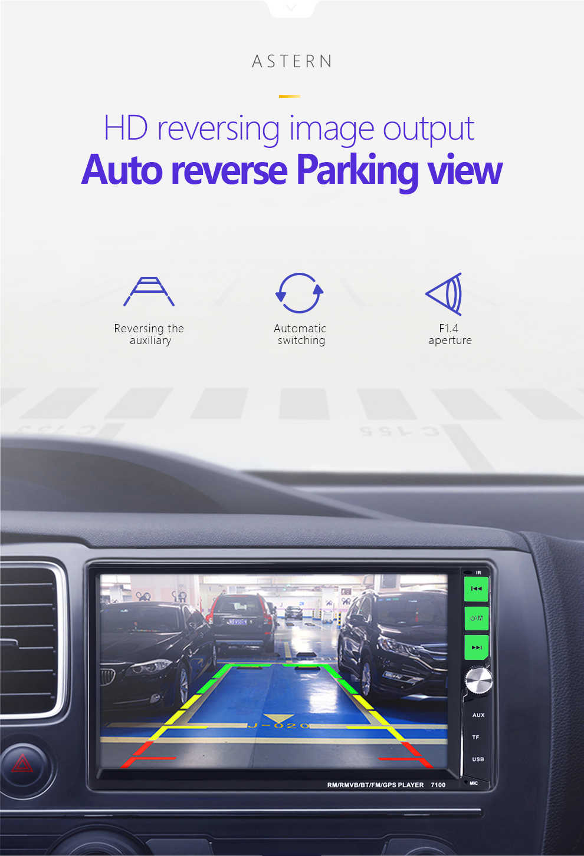 2 din Auto radio multimedia reproductor de pantalla táctil de enlace Android iphone Auto audio estéreo MP5 Bluetooth TF USB FM Cámara 2DIN