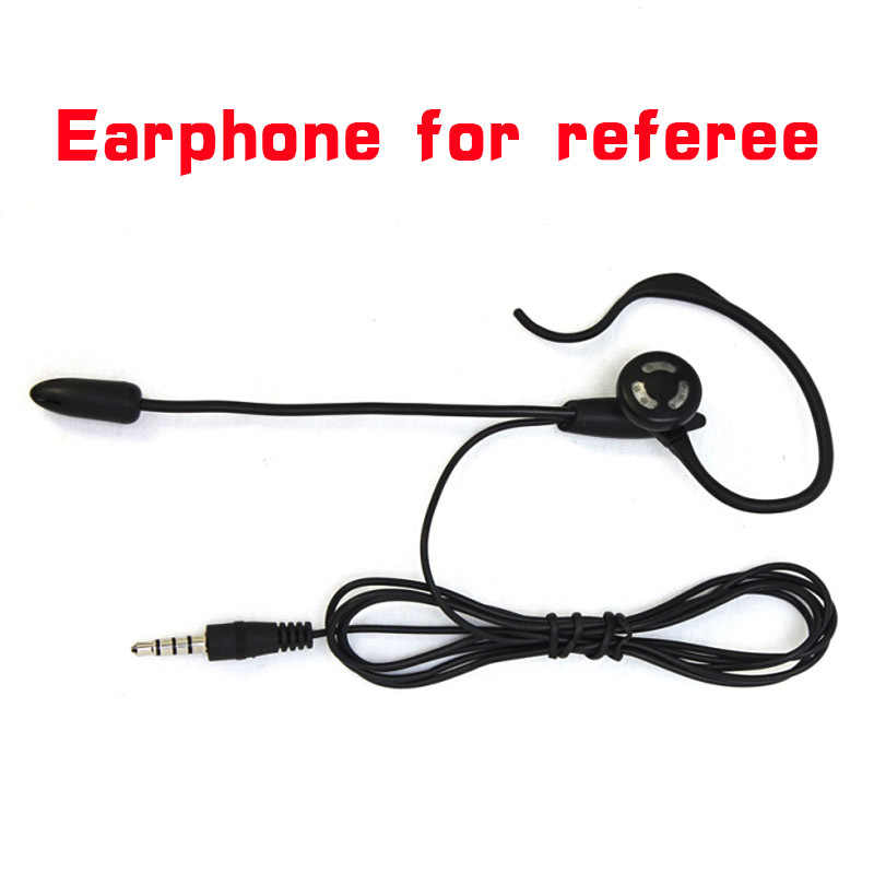 Vnetphone Football Football arbitre casque Monaural casque oreillette écouteur pour V6 V4 V5 interphone Football arbitre arbitrage
