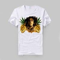 Bob Marley Reggae King Crown Logo 100 Cotton Vintage Fashion Street Style Men Women Size Lots