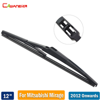 Cawanerl For Mitsubishi Mirage 2012-2017 Car Rubber Back Window Wiper 1 Piece 12