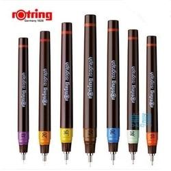Rotring изограф ручки 0,1 мм-1,0 мм заправленные чернила пористая точка ручка для рисования 1 шт.
