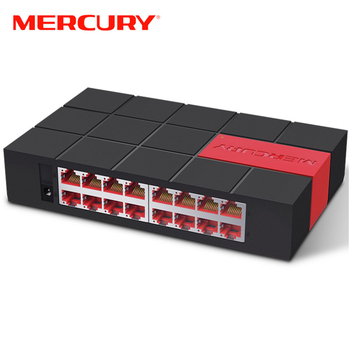 MERCURY SG116M 16 Port RJ45 Gigabit Switch 10/100/1000Mbps Network Switch Desktop Switch
