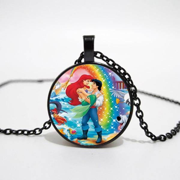 Disney Little Mermaid Ariel Handmade Pendant//Charm for Bracelet or Necklace/'s..