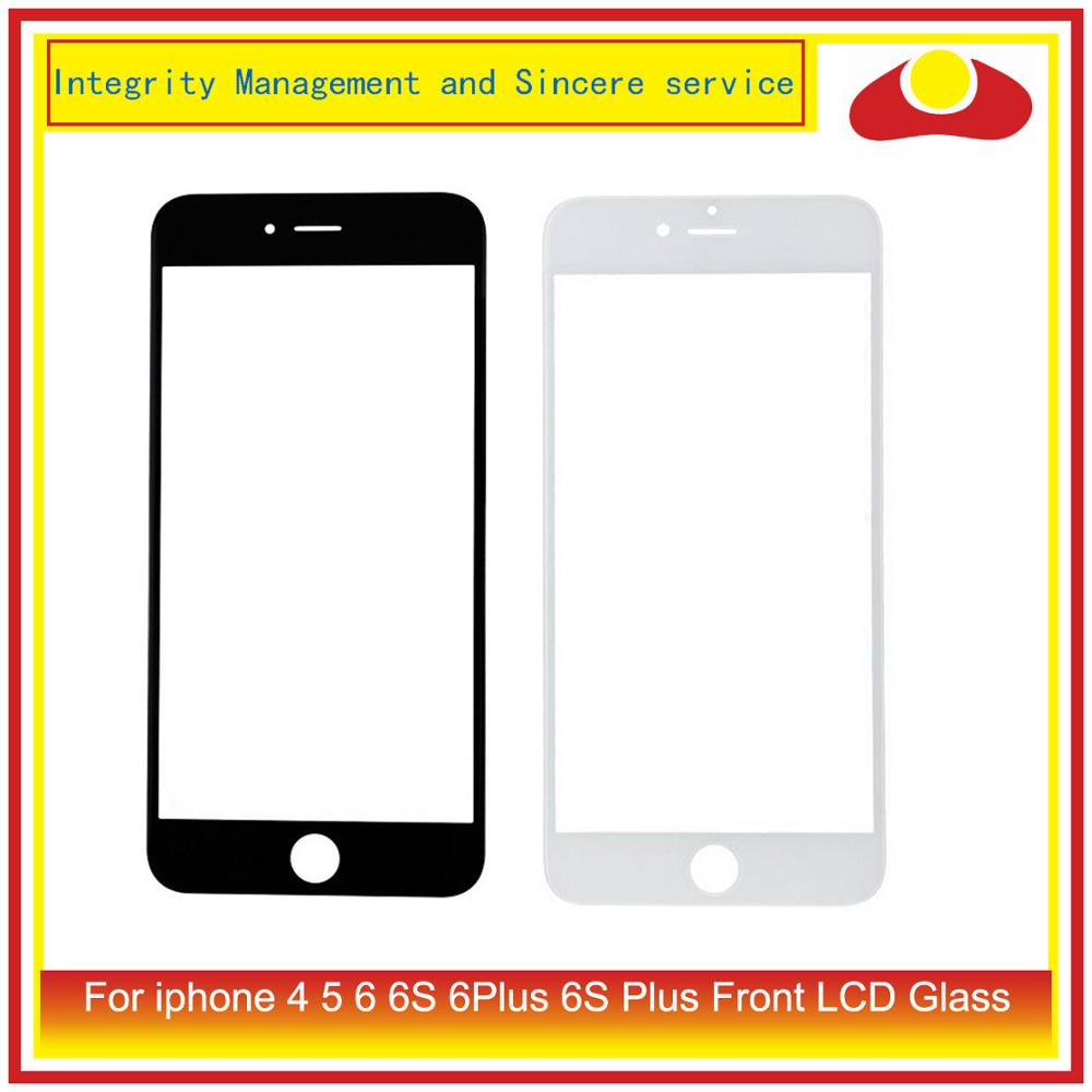 For iphone 6 6S Plus Touch Screen Digitizer Touch Panel Front Outer Glass Lens For iphone 4 4S 5 LCD Glass Replacement