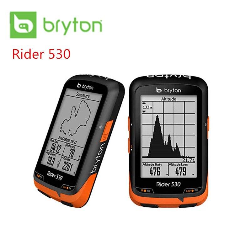Bryton Rider 530T GPS Della Bici Della Bicicletta Cycling Computer e di Estensione Montaggio ANT + Velocità Cadenza Doppio Sensore di Frequenza Cardiaca monitor R530