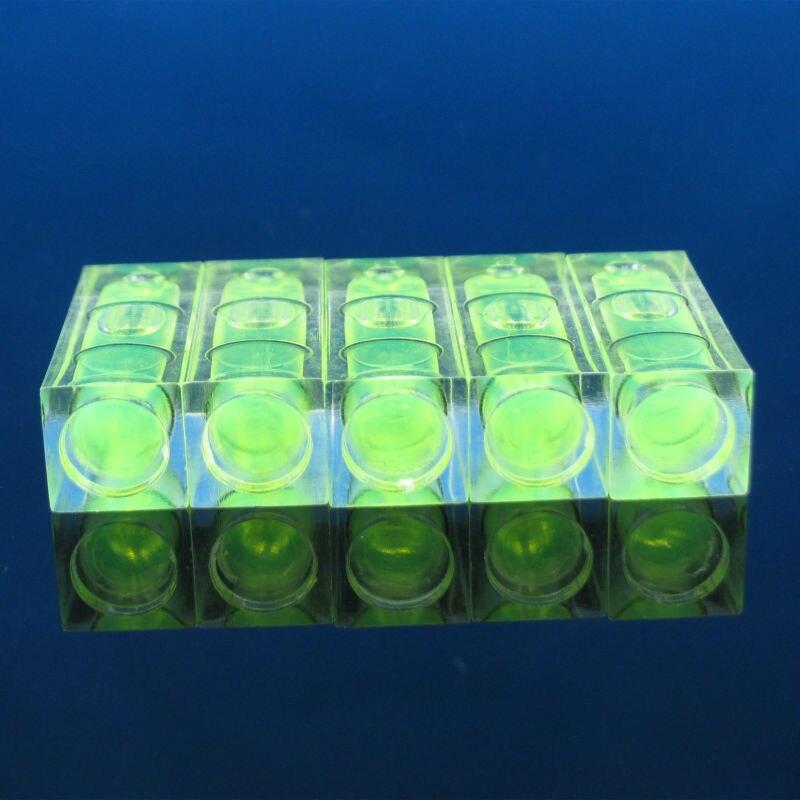 Image 4 - プロモーション!! 5 ピース/ロットサイズ 10*10*29 ミリメートル正方形 PMMA バブルレベルアクリルシェル精神レベルバイアルテレビラック    グループ上の ツール からの レベル計測器 の中