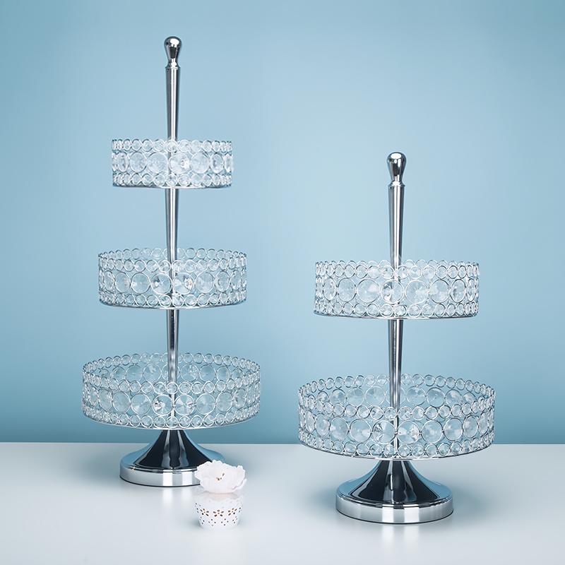 Gorgeous Crystal Cupcake Stand Mirror