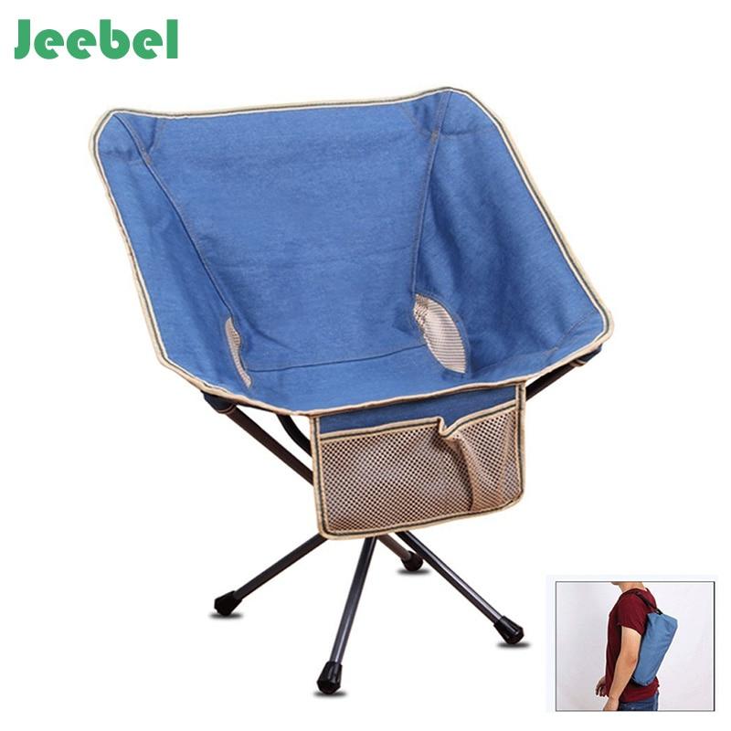 Jeebel 800D Camping Chaise De Pêche Pliant Oxford Tissu Pliable Portable En Alliage D'aluminium Jardin Pique Nique Plage En Plein Air Meubles dans Chaises de plage de Meubles