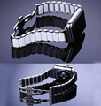 Serie 2 de acero inoxidable de cerámica venda de reloj para apple watch butterfly pulsera del corchete correa para apple watch iwatch 42mm 38mm