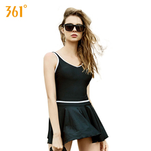 361 Women Skirt Swimwear Sexy Backless One Piece Swimsuit Summer Ladies Beach Pool Swimming Suit Push Up Bathing for Girls
