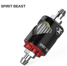 SPIRIT BEAST  Motorcycle Universal Spirit Beast Alloy Gasoline Oil Filters With Magnet Top Quality Strong Power