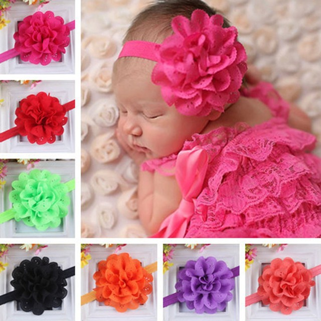 Lace Flower Baby Girl Headband