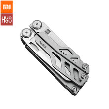 XIAOMI HUOHOU Multi-function Knife Folding Knife 15 Functions Bottle Opener Screwdriver Pliers All in 1 Camping Multi-tool(China)