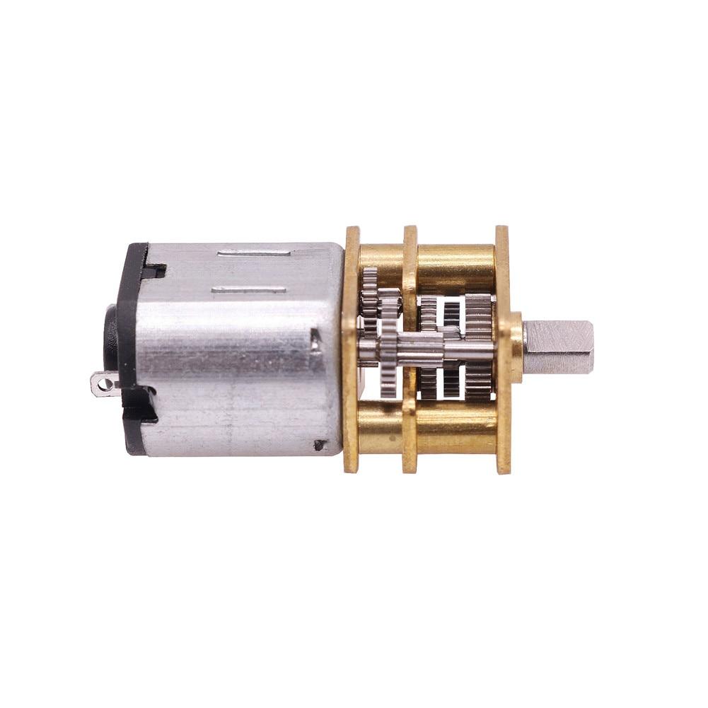 1 Pcs 21.1*12*10mm Escova Do Motor Desaceleração Dc Inteligente de Velocidade Nominal Do Motor 5-2000 rpm Fechadura da porta Do Motor de Baixa Velocidade Do Motor Pequeno