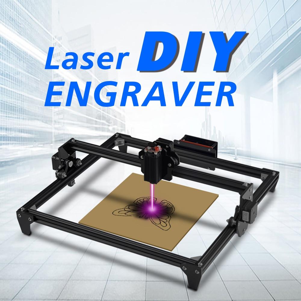 Laser Mini 2500MW CNC laser Engraving Machine 2Axis 3D printer DIY Engraver Desktop Wood Router/Cutter/Printer+Laser Goggles 1