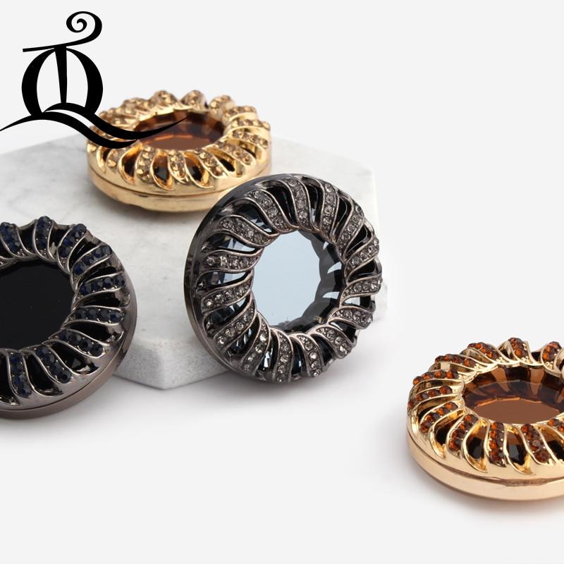 1 kos, 39mm modni modni akrilni kovinski gumbi, gumbi iz krzna. Gumbi - Umetnost, obrt in šivanje