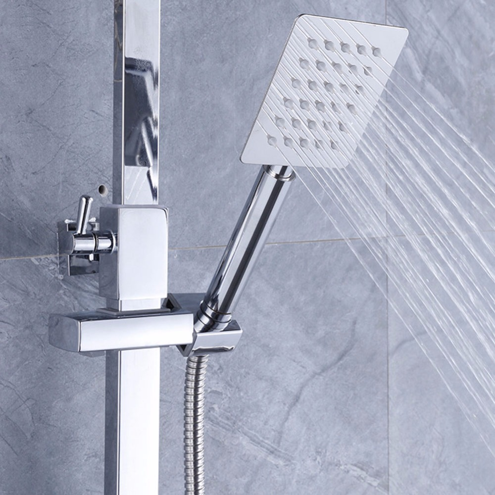 ONEZILI Modern Slim Stainless Steel 3.94*3.14 inches Shower Head ...