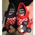 Mini Encantadora Mickey Minnie Sandalias de la Jalea de Melissa Sandalias de Las Muchachas Soft Comfort 3 Color 15-18 cm Melissa Sandalias de Los Niños alta Calidad