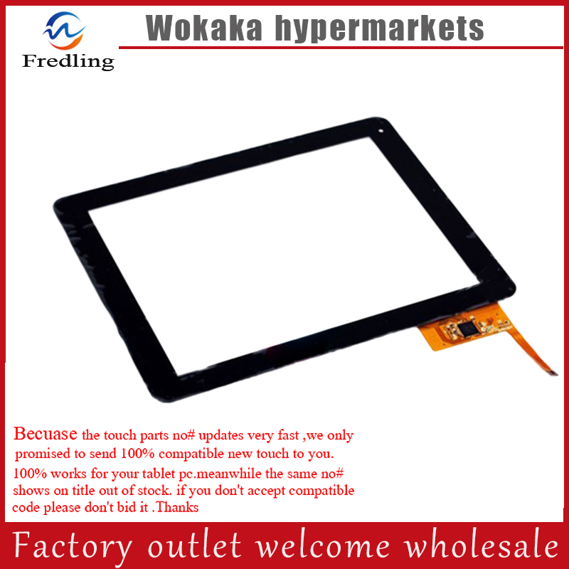 New 9.7 roverpad sky 9.7 Tablet touch screen Touch panel Digitizer Glass Sensor Replacement Free Shipping 7 for dexp ursus s170 tablet touch screen digitizer glass sensor panel replacement free shipping black w
