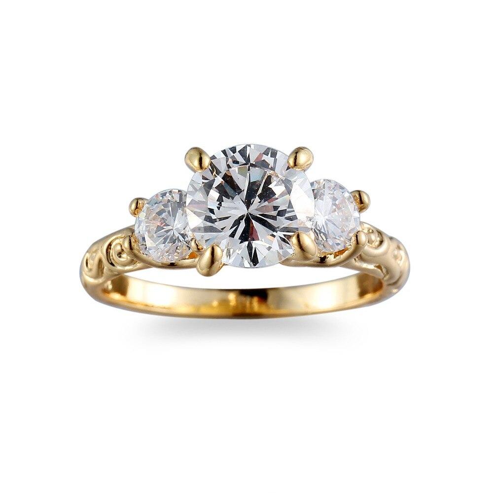 Kc-074 женский белый крест модные белые и красные Золото Простой ювелирные изделия обещание Обручальные кольца для Для женщин День рождения к...