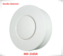 Big discount Battery Support 433Mhh/868Mhz wireless Smoke detector fire alarm compatible with ST-VGT and ST-IIIB alarm system
